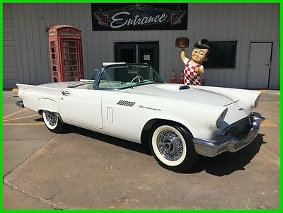 1957 Ford Thunderbird Convertible 1957 Convertible Used Automatic RWD