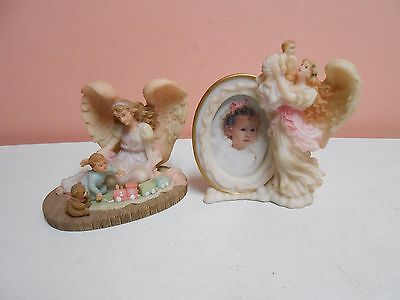 Seraphim Angel 1996 Picture Frame + Angels to Watch Over Me #78092