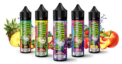 New Monster Drip Liquids Premium Juice 50ml-0mg Fruits Flavors Free 10ml NicShot