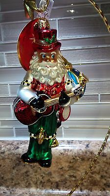 "Christopher Radko  ""One Man Band"" Ornament NWT"
