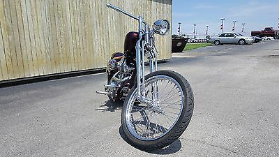 2017 Custom Built Motorcycles Chopper  2017 Special Construction Ridgid Tail Chopper 113 Ultima Open Primary Springer