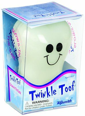 NEW Toysmith Twinkle Toof Tooth (3.5-Inch), Free 3 Day Shipping