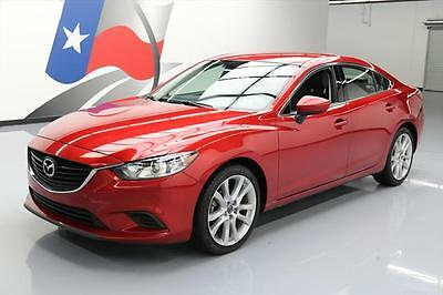 2014 Mazda Mazda6  2014 MAZDA MAZDA6 I TOURING LEATHER REARVIEW CAM 39K MI #149277 Texas Direct