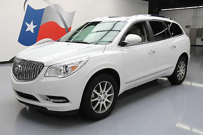 2017 Buick Enclave Leather Sport Utility 4-Door 2017 BUICK ENCLAVE HTD LEATHER REAR CAM 3RD ROW 33K MI #151006 Texas Direct Auto