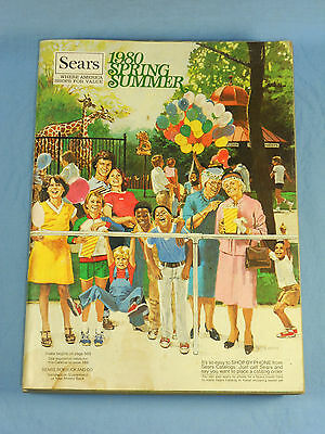 SEARS 1980 SPRING/SUMMER Southern Ed. Catalog Cover Illustration by Betty Maxey