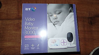 bt video baby monitor 3000 2.8 inch screen with 5 lullabies