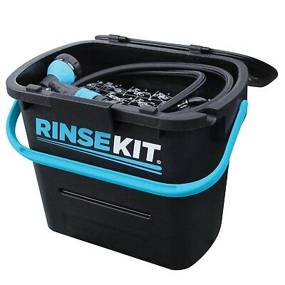 Rinsekit Portable Pressurised Battery Free Shower System