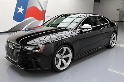2013 Audi RS5 Base Coupe 2-Door 2013 AUDI RS5 COUPE AWD HTD LEATHER SUNROOF 20'S 33K MI #901503 Texas Direct