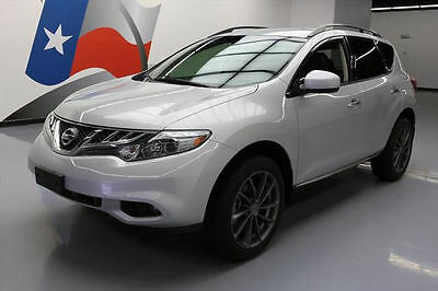 2014 Nissan Murano  2014 NISSAN MURANO SV LEATHER REARVIEW CAM  20'S 49K MI #408056 Texas Direct