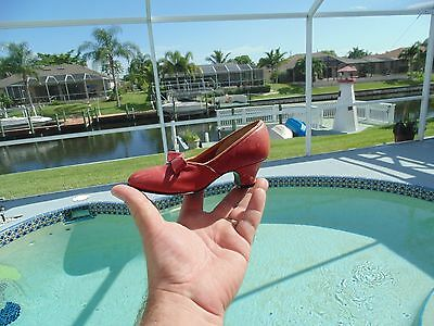 Rare 1940's Antique Vintage PARADISE KITTENS salesman's sample girls shoe