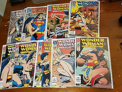 WONDER WOMAN lot set of 18!  Brian Bolland covers #64-100 w/67,71,78,88,99 &more