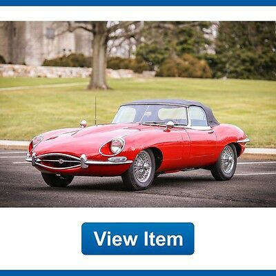 1967 Jaguar E-Type 1.25 1967 Jaguar E-Type 1 Owner XKE OTS Series 1 1.25 Convertible Matching Numbers!