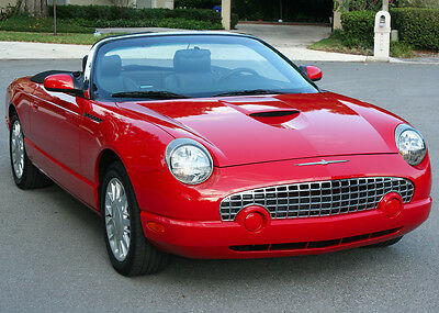2002 Ford Thunderbird TWO OWNER - MINT - 17K MILES EXCELLENT TWO OWNER - 2002 Ford Thunderbird Roadster  - 17K MI