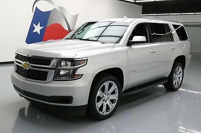 2017 Chevrolet Tahoe LT Sport Utility 4-Door 2017 CHEVY TAHOE LT 8PASS LEATHER NAV REAR CAM 22'S 18K #138160 Texas Direct