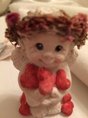 Dreamsicles Angel Cherub Heart Figurine Collectible Kristin Haynes
