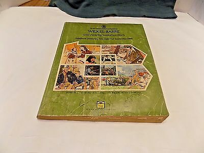 Vintage 1968 Bell Telephone Company Telephone Directory Wilkes Barre Pa.