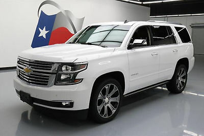 2015 Chevrolet Tahoe LTZ Sport Utility 4-Door 2015 CHEVY TAHOE LTZ 7-PASS SUNROOF NAV DVD 22'S 47K MI #267089 Texas Direct