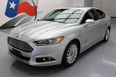 2013 Ford Fusion Energi Titanium Sedan 4-Door 2013 FORD FUSION TITANIUM ENERGI HYBRID SUNROOF NAV 40K #309704 Texas Direct