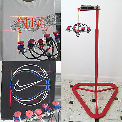 Laser Targeting Systems - Screen Printing Heat Press Embroidery Digital Printing