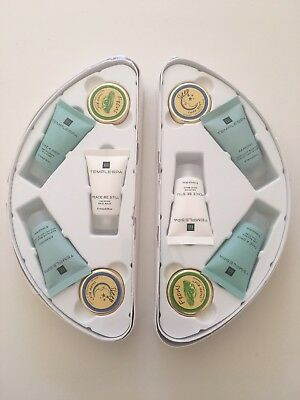 Emirates FIRST CLASS travel-sized beauty products