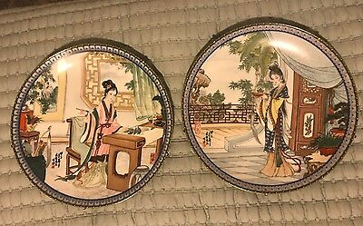 1987 Imperial Beauties of The Red Mansion Jingdezhen Porcelain Plate