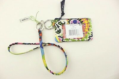 New with tags Vera Bradley Zip ID Case and Lanyard in Rio