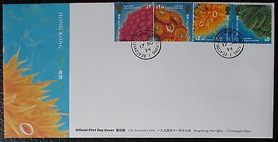1994 Hong Kong Corals - Official Hong Kong First Day Cover / FDC