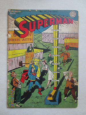 Superman  31 - Early Luthor App And Lois Lane Story - Lower Grade But Complete