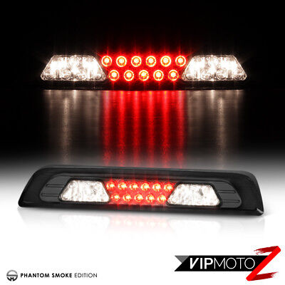 2007-2013 Toyota Tundra Smoke Len [RED LED SMD] Rear 3RD Brake Tail Lights Lamps