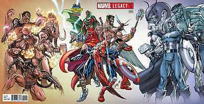 Marvel Legacy 1 J Scott Campbell Midtown Variant Nm Spiderman