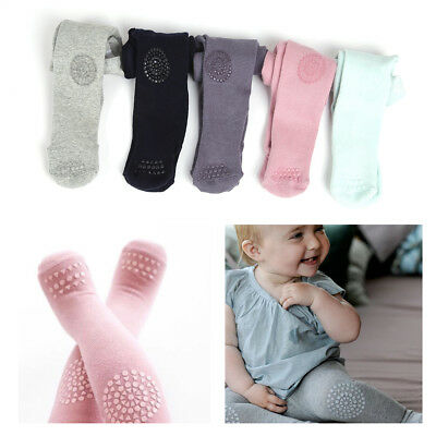 Cute 0-24Month Infant Spring/Autumn Cotton Diamond Pantyhose Baby Knitted Tights