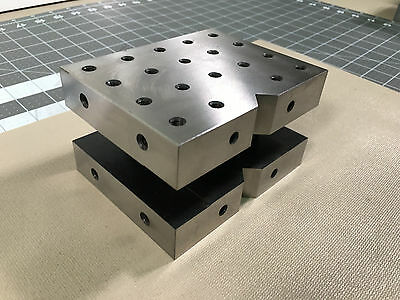 "ATCO Precision Steel Cube Mode C-345  3"" x 4"" x 5""  Made in USA"
