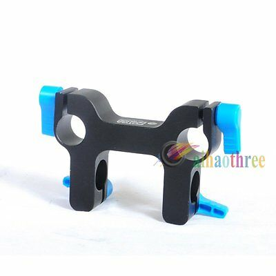 FOTGA DP3000 M1 Mount Bracket Rail Slide Block Clamp Clip For 15mm Rod DSLR Rig