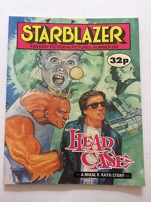Starblazer Fantasy Fiction in Pictures 1989 Sci Fi No 252 Head Case Mikal R Kayn