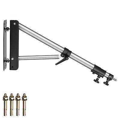 "Neewer Max Height 49""/125cm Wall Mounting Boom Arm for Studio Video Lights"