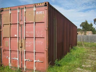 40 foot Hi cube shipping containers  water tight no rust holes