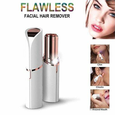 Finishing Touch Flawless Painless Epilator Facial Hair Remover Hypoallergenic