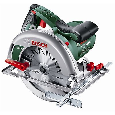 Bosch Hand Held Circular Saw Powerful Corded Compact 1500W 184mm