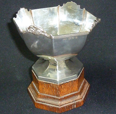 Antique Solid Silver Trophy Scholarship For Singing - Bimingham 1910 - 182g