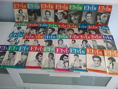 70 Elvis monthly magazines + Beatles + Monkees  magazines also included in price