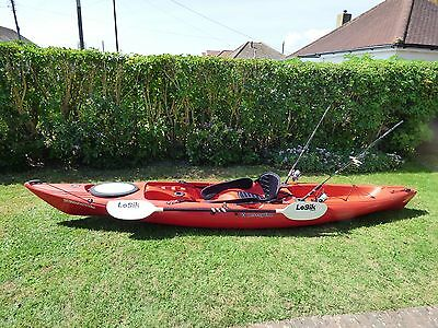 Perception 39 triumph 13 39 fishing touring sit on kayak for Perception fishing kayak