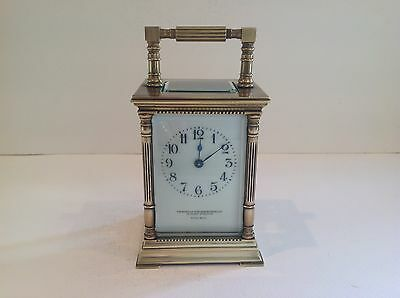 Stunning Miniature French Carriage Clock Fully Overhauled August 2017