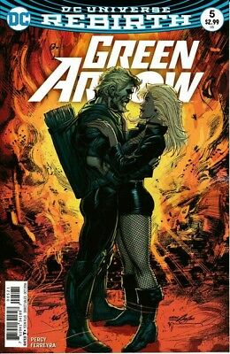 Green Arrow 1-6 - DC Rebirth - All Neal Adams Variant Covers - N/M