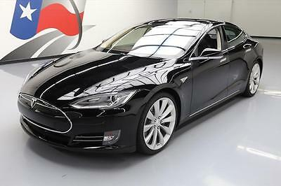 2012 Tesla Model S  2012 TESLA MODEL S SIGNATURE PERFORMANCE PANO 21'S 9K #S00815 Texas Direct Auto