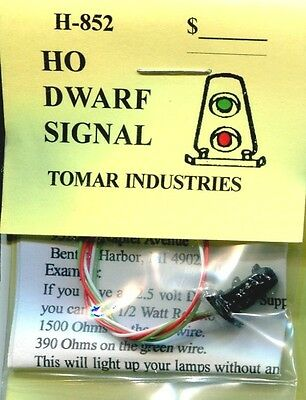 Ho Scale:  Tomar Industries 852:  Dwarf Signal