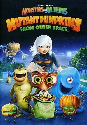 Monsters Vs. Aliens: Mutant Pumpkins from Outer SP [New DVD] Widescreen