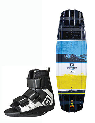 2017 O'Brien Contra Plan B Wakeboard Package, 137/141 and UK 3-13. 67720