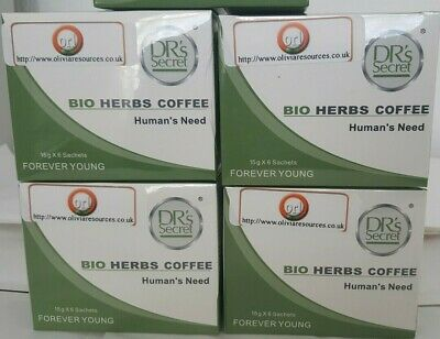 Drs Secret Bio Herbs Coffee - Human's Need (15g x 6 sachets) FOREVER YOUNG-Halal