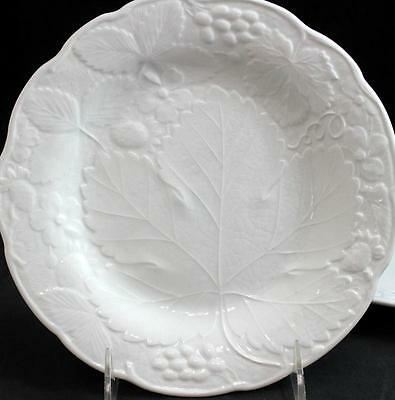 Burgess & Leigh STRAWBERRY & GRAPE LEAF 2 Salad Plates GREAT CONDITION