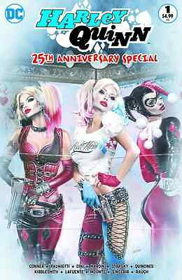 HARLEY QUINN 25th ANNIVERSARY SPECIAL 1 NATALI SANDERS COLOR VARIANT NM SOLD OUT